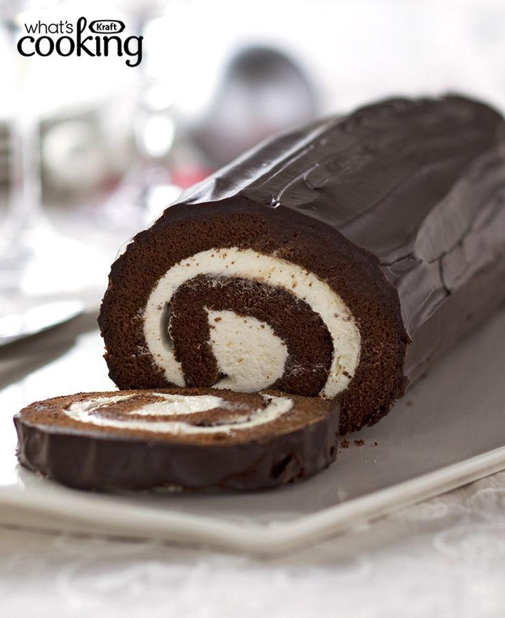 Chocolate Cake Roll #recipe