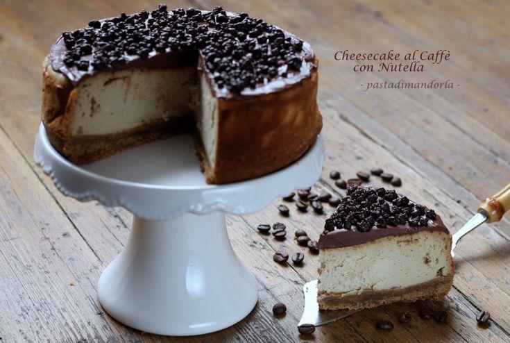 CHEESECAKE AL CAFFÈ CON NUTELLA ☺