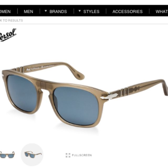Persol: Roadster edition. Mine.