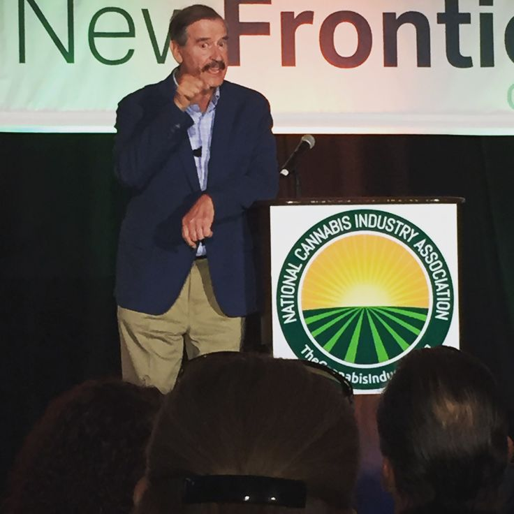 """Purpose without performance means nothing."" — Vicente Fox at #CannaBizSummit . #potprguy #cannabis"
