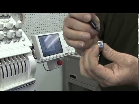 SWF Embroidery Machine Training Tip - Tensions - YouTube