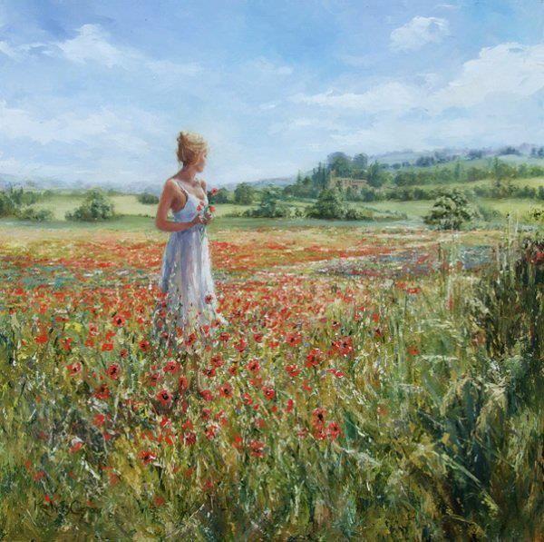 Karen Wallis | British Figurative painter