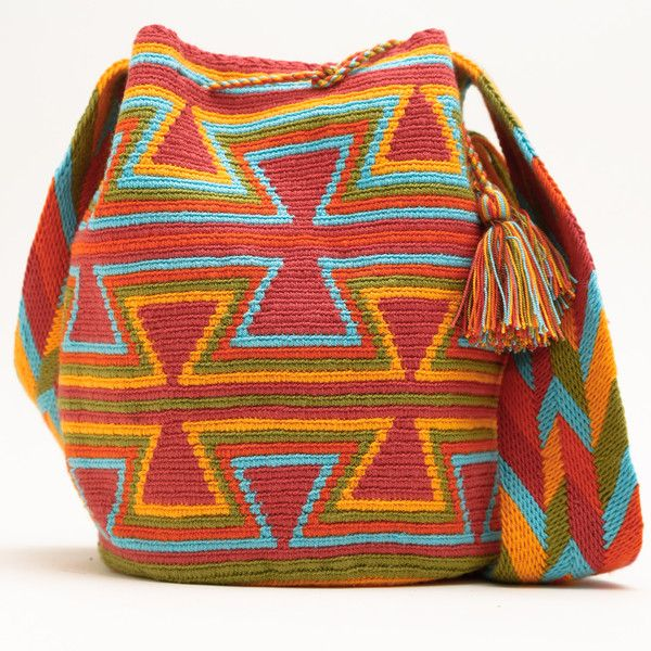Wayuu Boho Bags with Crochet Patterns