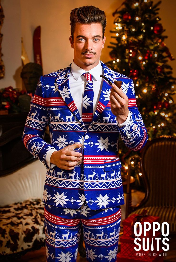 This year's ultimate Xmas costume. Turn up in the most original Christmas fancy dress outfit 'The Rudolph' at your Xmas party. It beats the Xmas jumper!