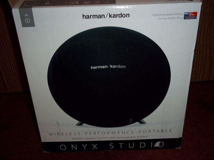 NEW Harman/Kardon Onyx Studio Wireless Performance Portable Speaker System #HarmanKardon