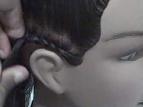 Have you ever wanted to learn how to cornrow hair? This video will give you simple and easy steps to help learn the technique. It will take practice to perfect the skill, but you'll be well on your way when learning the basic steps! It is very important to learn how to braid and cornrow because braiding and cornrows are the basic foundations...
