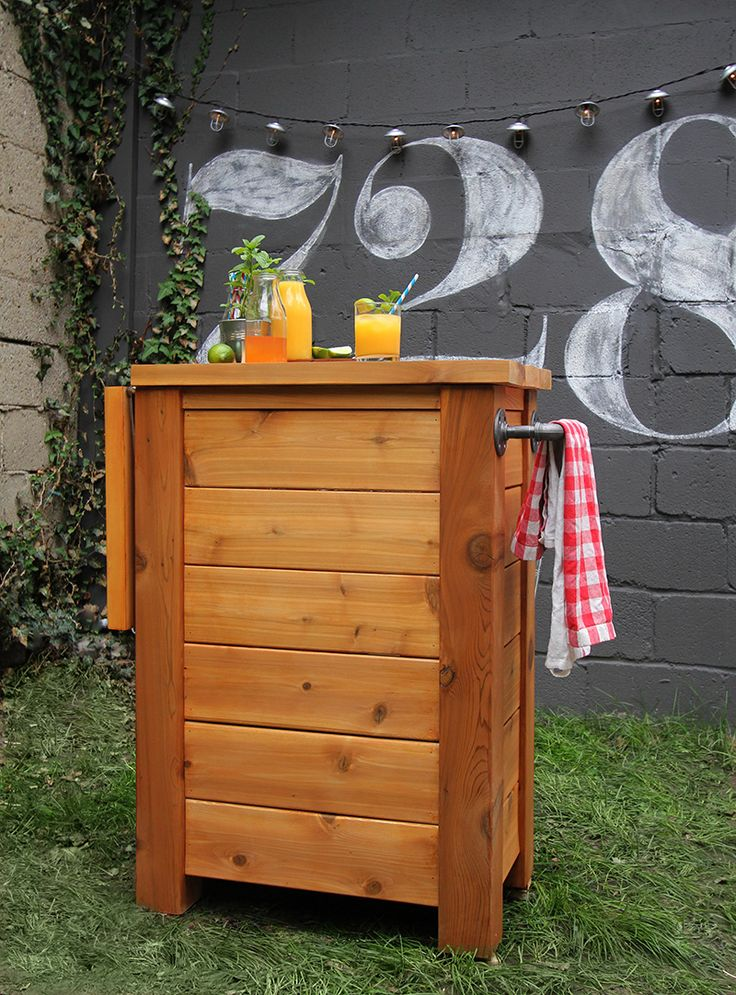 17 Best Images About Projects On Pinterest Diy Outdoor Bar Diy Headboards