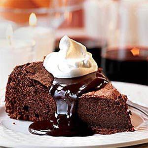 Chocolate..... pie..... nom!