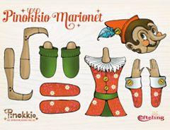 Knutsel een eigen Pinokkio-marionet