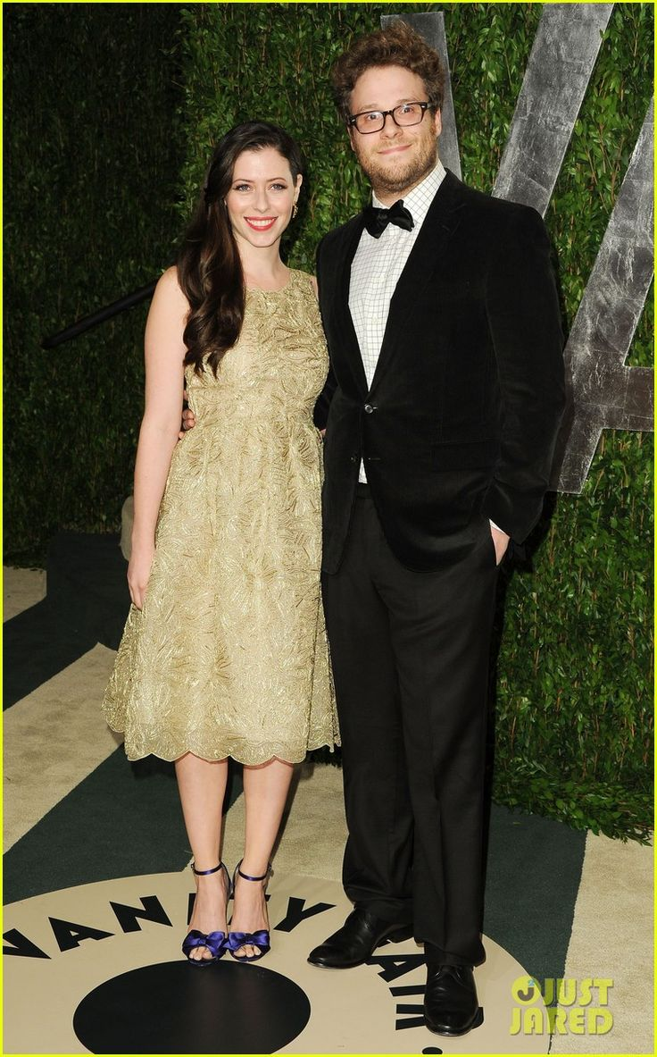 Seth Rogen & Lauren Miller - Vanity Fair Oscar Party