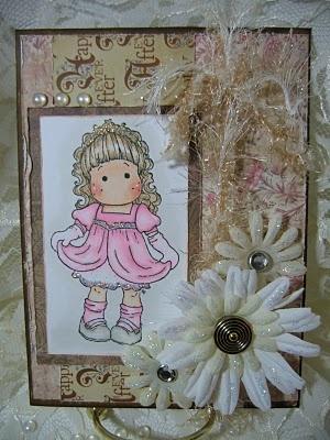 'Princess Tilda' card