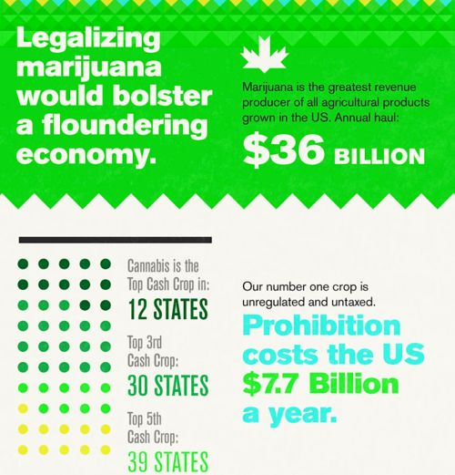 marijuana and economy Two economic forces will act on the marijuana market when recreational use is legalized first, those currently involved in the marijuana trade require a higher return than the rest of the economy due to the high risk of imprisonment, confiscation of capital, and unenforceable contracts.