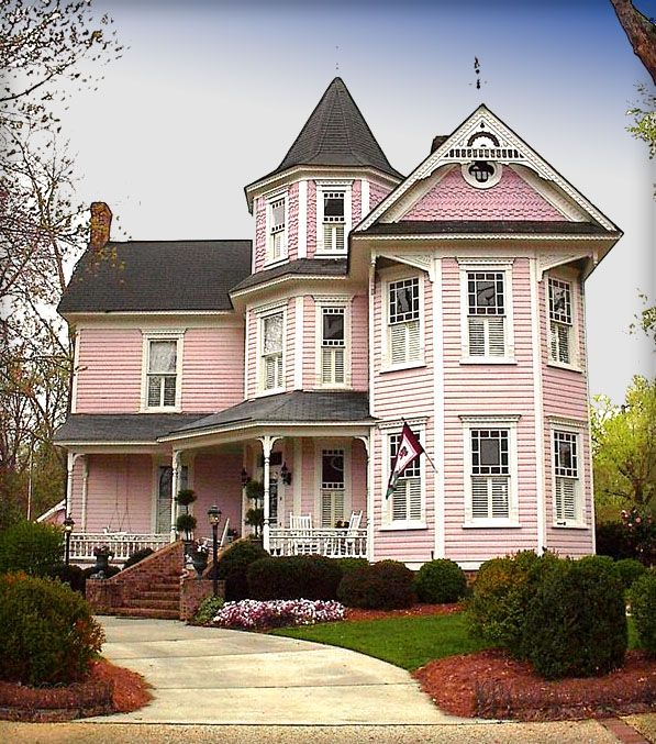 41 best Pink Houses images on Pinterest Pink houses Dream
