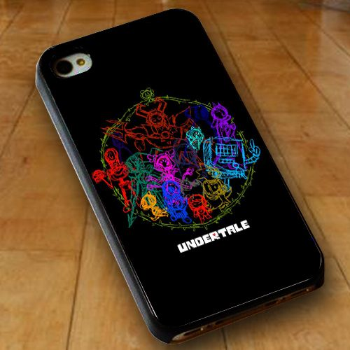 Undertale Circle WN I iPhone 6 Case, iPhone 6S Case, iPhone 6 Plus Case, iPhone 5S Case, iPhone 5C Cases - Personalized Phone Cases by SCRYL