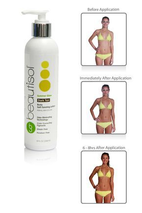 Summer Glow dark self tanning lotion is the perfect way to not blind people your first day at the beach! ;) #selftanner #tan #selftanning