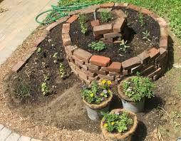brick herb garden - Google Search