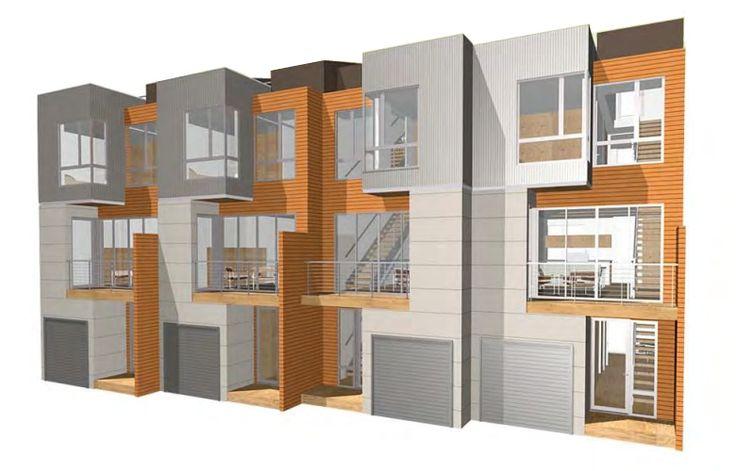 82 best modern house images on pinterest modern homes for Multi family modular home prices