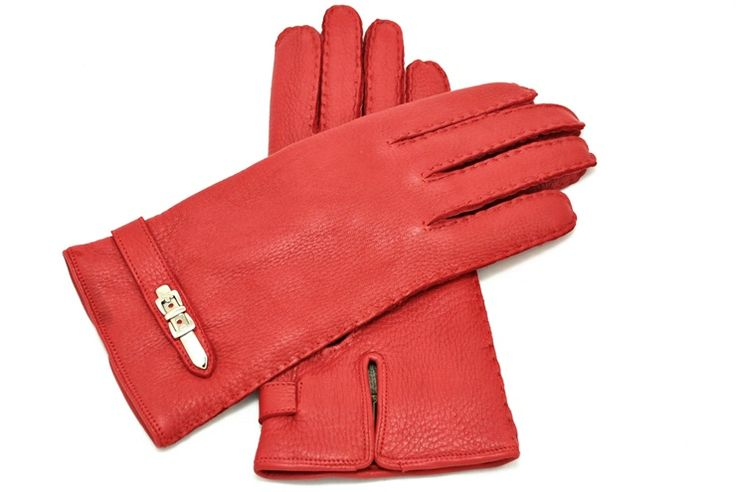 Deer leather gloves from alpagloves.com Code: 2-FAR2-1-4 RED
