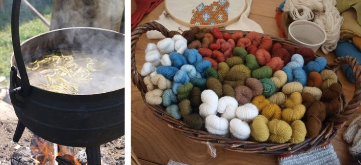 Medieval Dyeing. interesting site about historic crafts (woodturning, basketry, felting, weaving...)