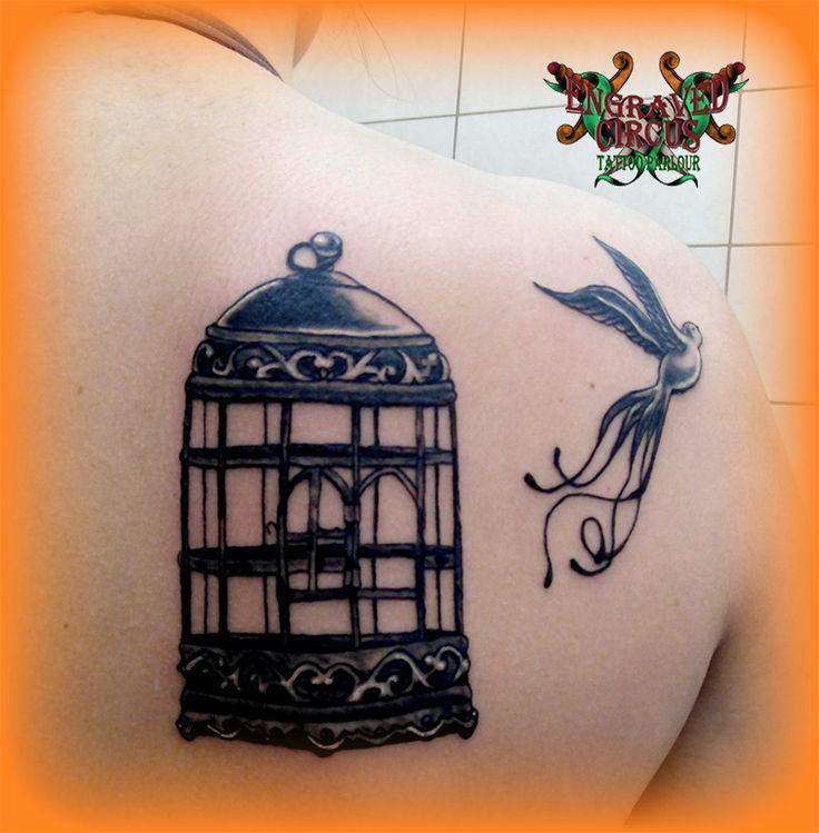 bird out of the cage..libertadd by loop1974.deviantart.com on @deviantART