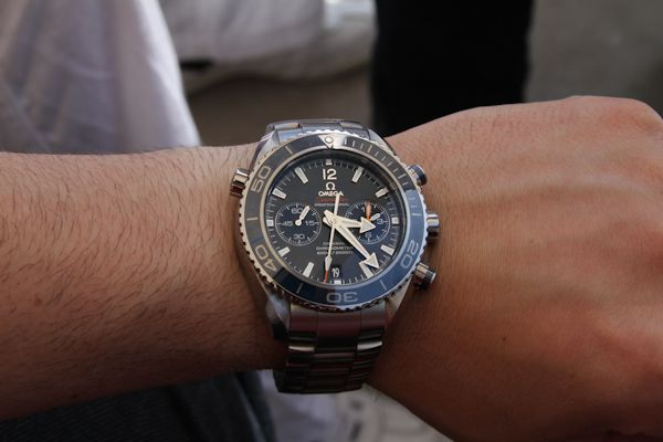 Omega Presents The 2011 Seamaster Planet Ocean Watch Collection
