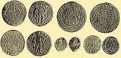 János király arany és ezüst pénzei.jpg
