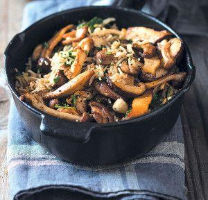 Mushroom Pilaf #Dinner #Recipe #Pilaf #SouthAfrica