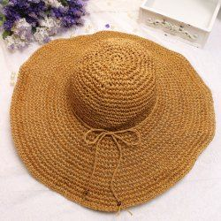 Sun Hats & Straw Hats For Women - Big Sun Protection Hats & Straw Cowboy Hats Fashion Sale Online | TwinkleDeals.com