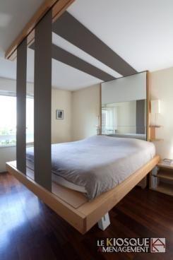 lit relevable au plafond bedup