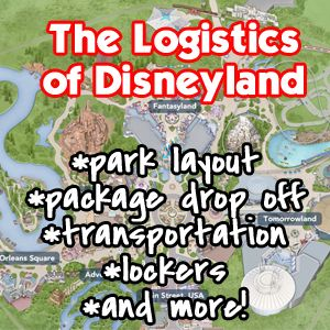 """So, we know lots about the magic of Disneyland and how we can add to the fantastic job Disney already does. Today, let's talk about some lesser """"magical"""" parts of the park that can be quite helpful with your Disneyland experience, which in turn, gives you more opportunity for the magic. Location..."""