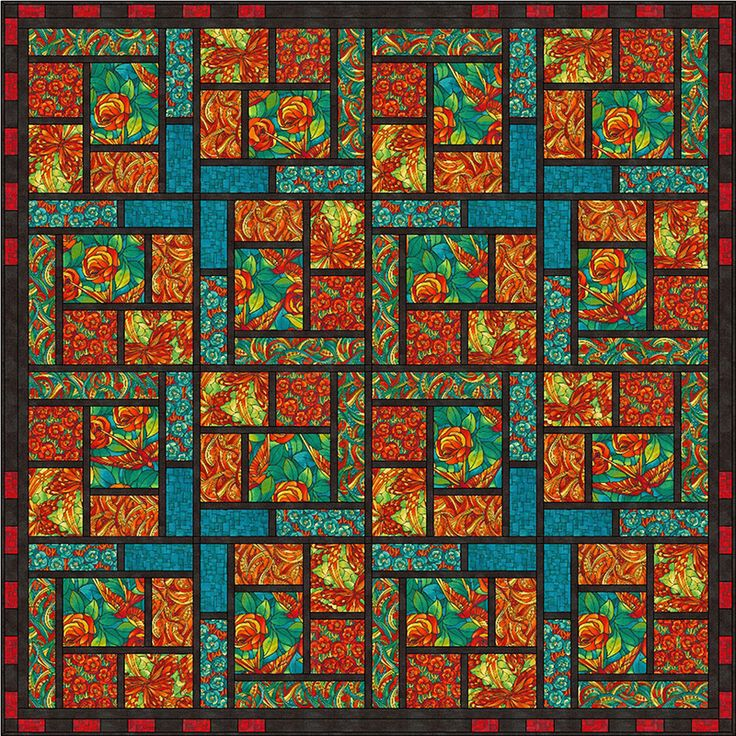 7 best quilts by sally ablett images on pinterest quilt patterns another stained glass urtaz Image collections