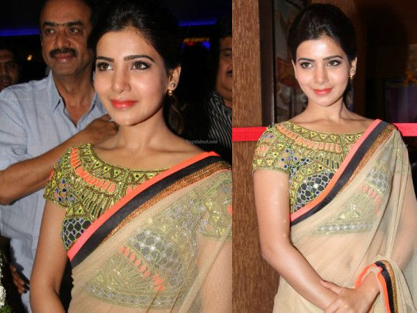 12 Of The Best Blouse Designs Samantha Sported photo