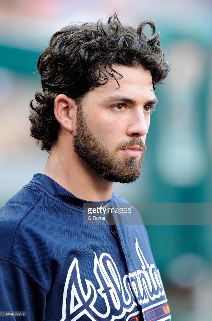 News Photo Dansby Swanson Of The Atlanta Braves Watches