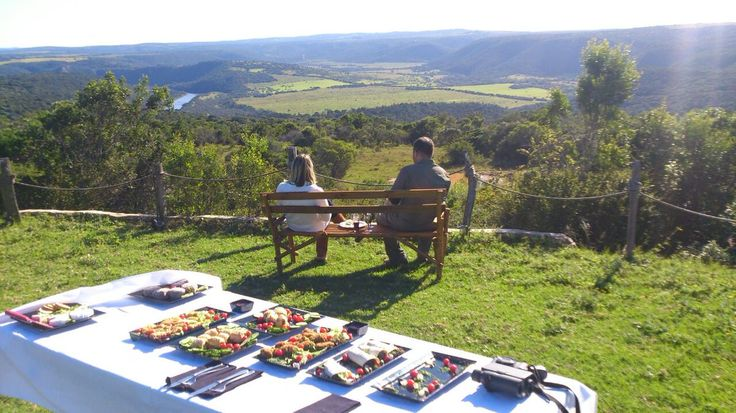 Enjoy a delicious Sibuya Bush Picnic with Ranger Dave at panoramic Olive Deck.  When staying for 3 nights at any of the Sibuya camps you can enjoy a complimentary Bush or Beach Picnic.  www.sibuya.co.za