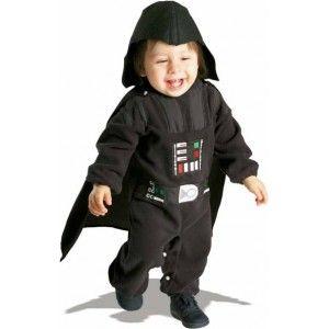 Déguisement bébé dark vador , Halloween, Fêtes déguisées, costume bébé sous licence star wars.