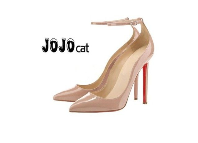 : Hot Sale Mary Janes Style Women Pumps 11.5cm Red Bottom High Heels Closed Pointed Toe Women Party Shoes