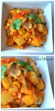 Bacalao Guisado (Puerto Rican Style Stewed Salted Codfish)   Delish D'Lites  http://delishdlites.com/fish-recipes/bacalao-guisado-stewed-cod-fish-lent-recipe/