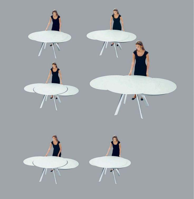 13 best sedie images on pinterest diner table dining for Tavolo cristallo allungabile usato