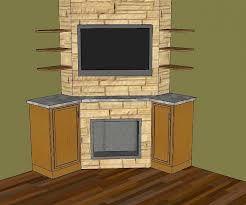 Outstanding Corner Fireplace TV Design Ideas 600 X 501 · 83 KB · Jpeg