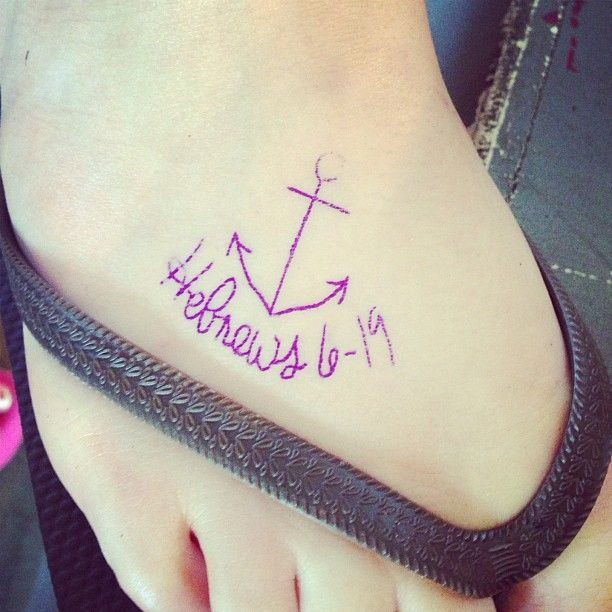 25 best ideas about simple anchor tattoo on pinterest for Simple foot tattoos