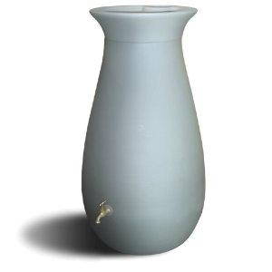 Modern Rain Barrel; looking for this in terra cotta