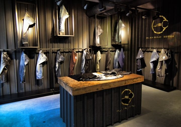 "JSCO STORE,Istanbul, Turkey, ""Black God Edition"", store by MOZ RETAIL DESIGN TEAM, pinned by Ton van der Veer"