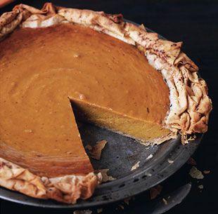 Spiced Pumpkin Phyllo Pie