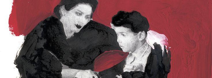"""Edición de """"Los girasoles ciegos"""", de Alberto Méndez, ilustrada por Gianluigi Toccafondo. La fuerza de las ilustraciones dan una vuelta más de tuerca a la intensidad del texto."""
