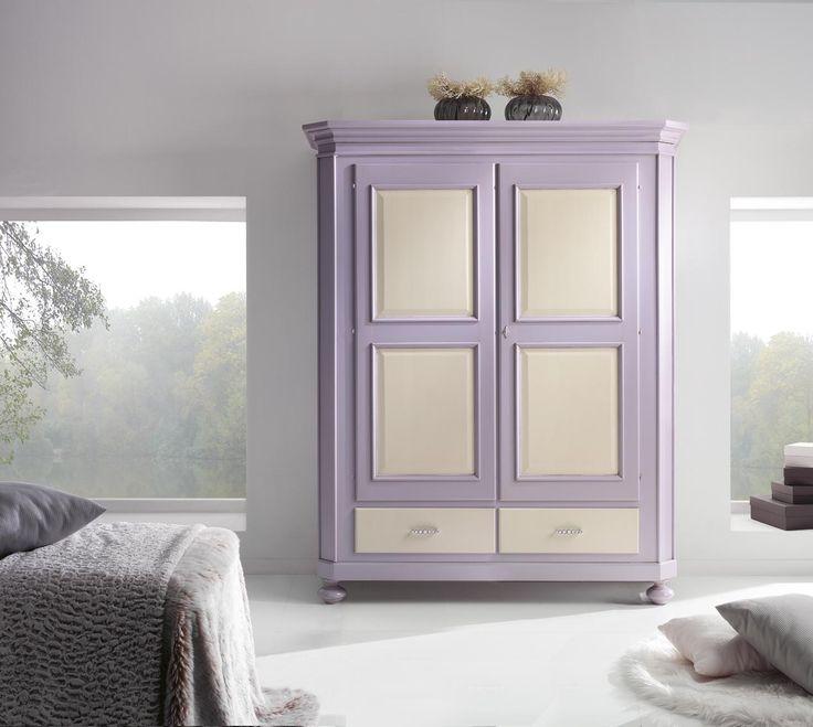 Dulap din lemn masiv  Hand Painted wardrobe Catalog Zanini