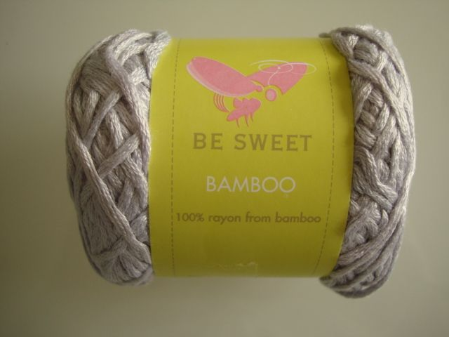Be Sweet Bamboo Lilac 614 - 100% bamboo made in South Africa. Hook 4 mm.
