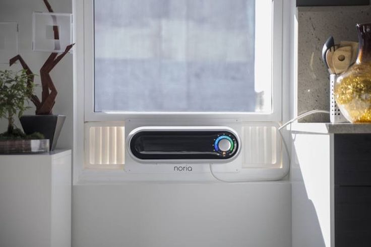 Access to nice cold air on a hot summer day traditionally means a large and unsightly white box filling your window. But with the Noria Smart Air Condition