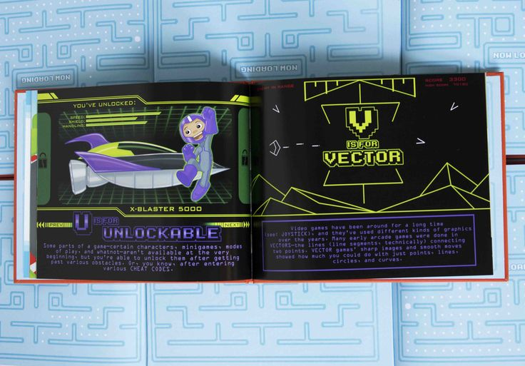 U is for Unlockable, V is for Vector #Gaming #Videogames #Kids
