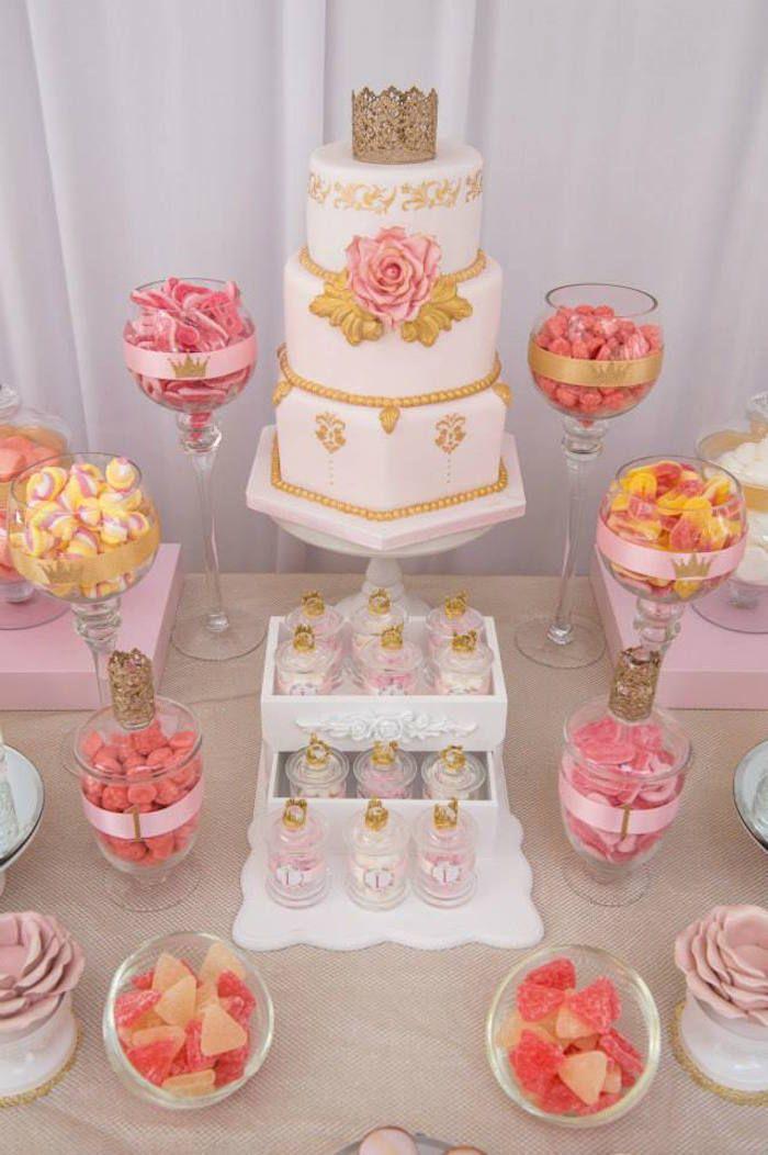 Pink & Gold Princess Party