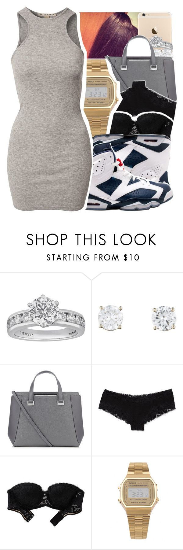"""November 7th, 2015"" by itrendyprinceton ❤ liked on Polyvore featuring Tiffany & Co., Jimmy Choo, Victoria's Secret, Aerie, American Apparel, Retrò and NLY Trend"